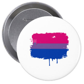 Bisexual Pride Colors Pinback Button
