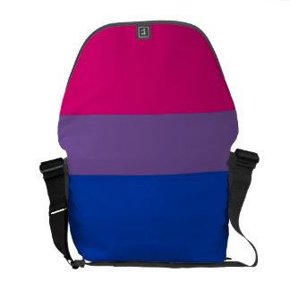 Bisexual Pride Courier Bag