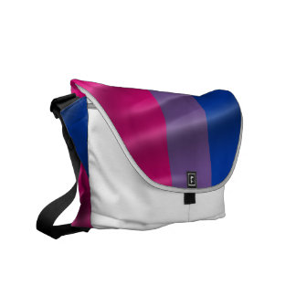 Bisexual Pride Courier Bags
