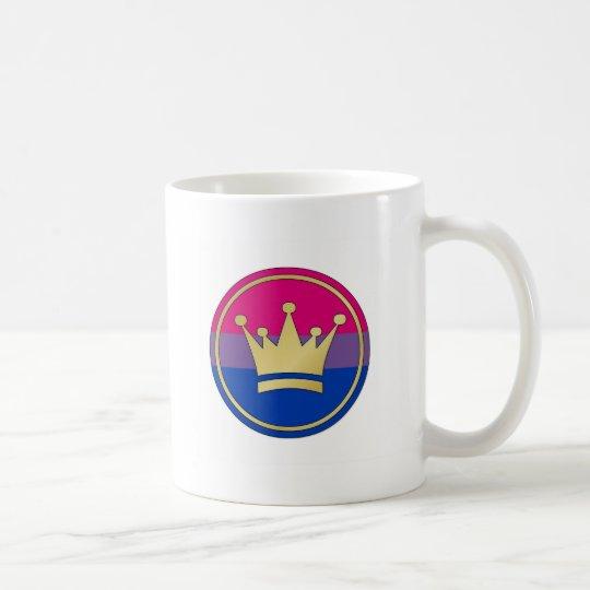 Bisexual Pride Crown Coffee Mug
