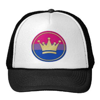 Bisexual Pride Crown Trucker Hat