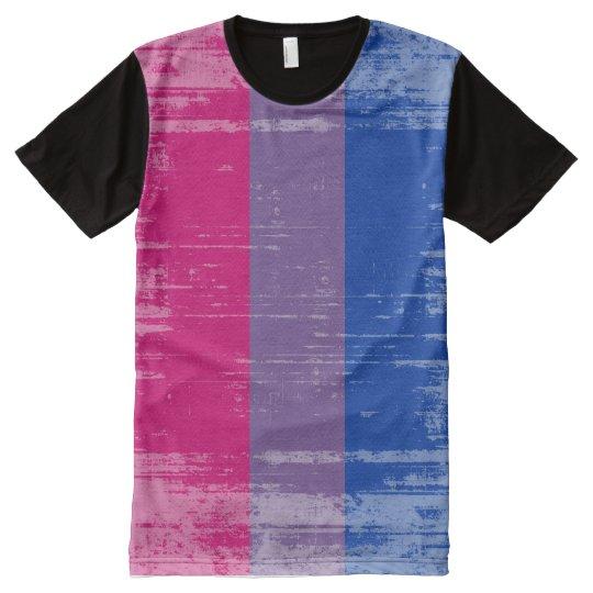 6d7efe48c6412 BISEXUAL PRIDE DISTRESSED DESIGN -.png All-Over-Print T-Shirt ...