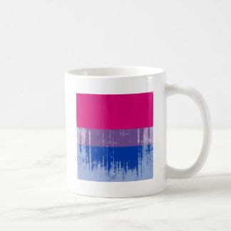 Bisexual Pride distressed png Mugs