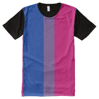 Bisexual Pride Flag All-Over-Print Shirt