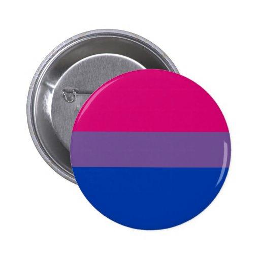 Bisexual Pride Flag Button