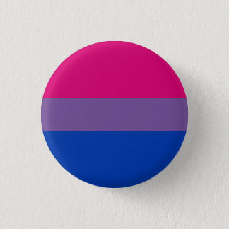Bisexual Pride Flag Button