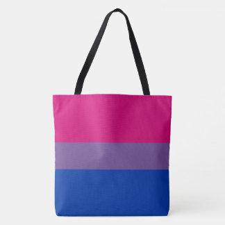 Bisexual Pride Flag Colors LGBT All-Over-Print Tote Bag