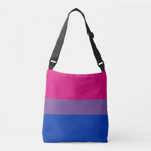 Bisexual Pride Flag Crossbody Bag