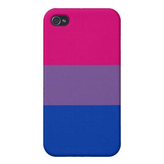 Bisexual Pride Flag iPhone 4/4S Case