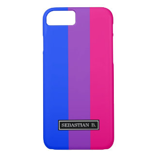 Bisexual Pride Flag iPhone 8/7 Case