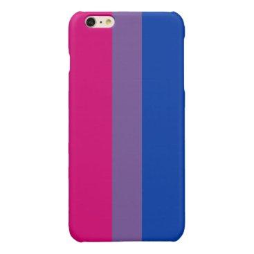Bisexual Pride Flag Glossy iPhone 6 Plus Case
