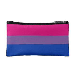 Bisexual Pride Flag Makeup Bags