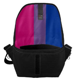 Bisexual Pride Flag Messenger Bag