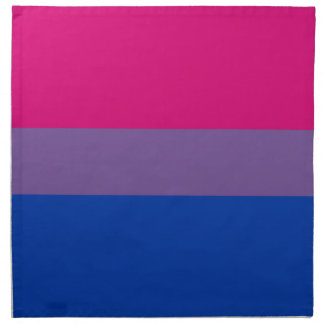 BISEXUAL PRIDE FLAG PRINTED NAPKINS
