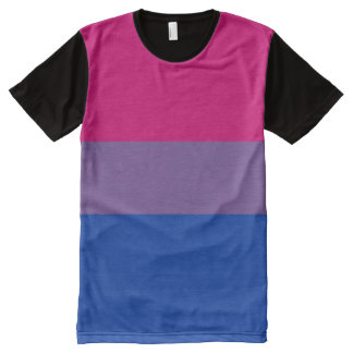 Bisexual Pride Flag Official -.png All-Over-Print T-Shirt