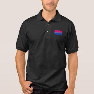 Bisexual Pride Flag Polo Shirt