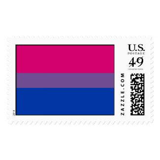 Bisexual Pride Flag Stamps