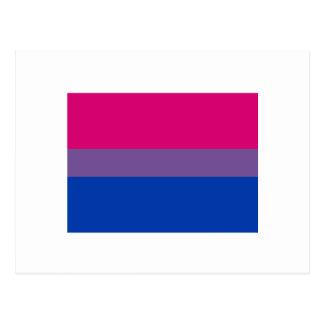 Bisexual Pride Flag Post Cards