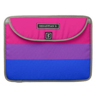 Bisexual Pride Flag Sleeve For MacBook Pro