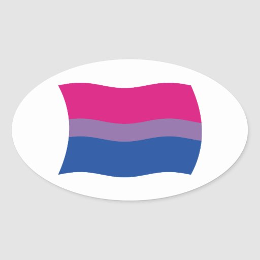 Bisexual Pride Flag Sticker