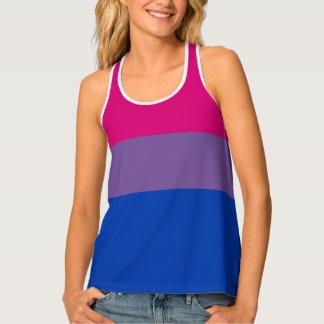 Bisexual Pride Flag Tank Top