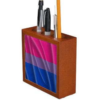 BISEXUAL PRIDE FLAG WAVY DESIGN Pencil/Pen HOLDER