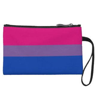 Bisexual Pride Flag Wristlet Wallet