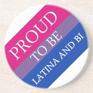 Bisexual Pride Gear Beverage Coaster