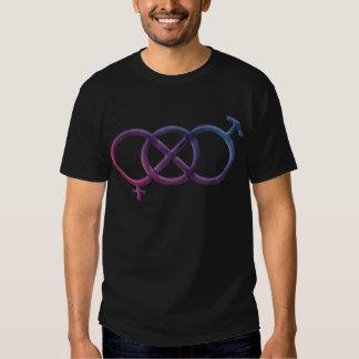 Bisexual Pride Gender Knot Tee Shirt