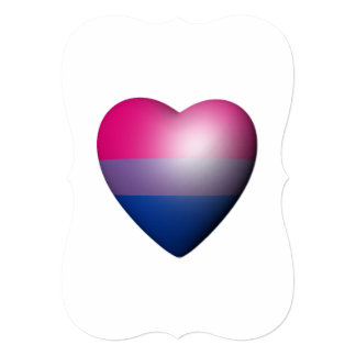 BISEXUAL PRIDE HEART ANNOUNCEMENTS
