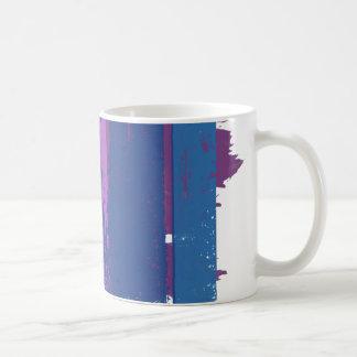 BISEXUAL PRIDE INK BAR - png Coffee Mugs