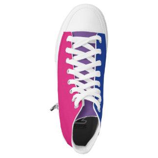 Bisexual Pride LGBT High-Top Sneakers