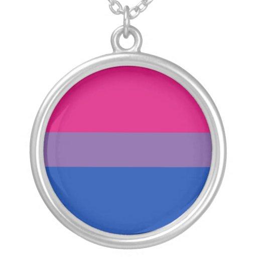 Bisexual Pride necklace