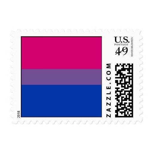 Bisexual Pride Postage