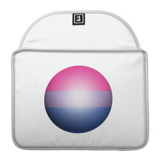 BISEXUAL PRIDE SPHERE SLEEVES FOR MacBook PRO