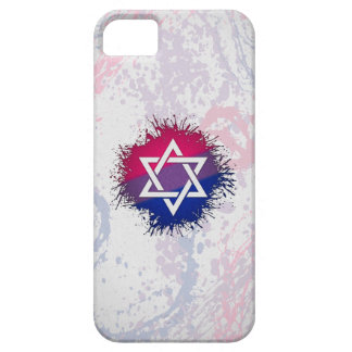 Bisexual Pride Star of David iPhone SE/5/5s Case