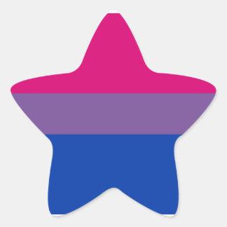 Bisexual Pride stickers - stars