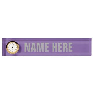 BISEXUAL PRIDE STRIPED HORIZONTAL - 2014 PRIDE.png Desk Nameplates
