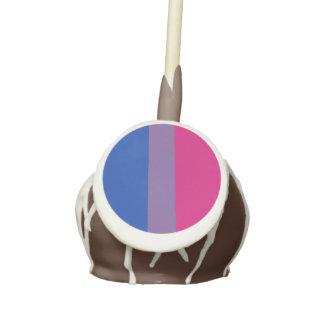 BISEXUAL PRIDE STRIPED VERTICAL - 2014 PRIDE.png Cake Pops