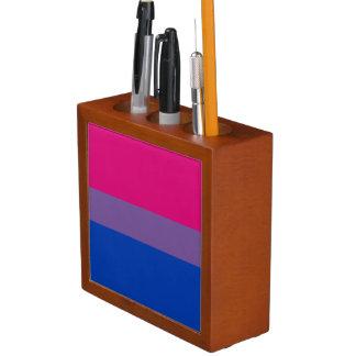 BISEXUAL PRIDE STRIPES DESIGN - 2014 PRIDE.png Pencil Holder