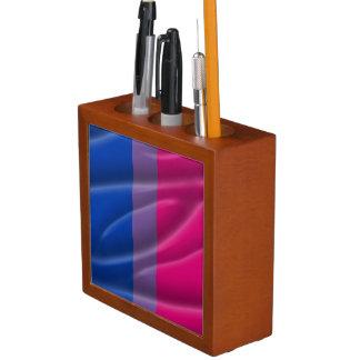 BISEXUAL PRIDE WAVY VERTICAL - 2014 PRIDE.png Pencil/Pen Holder