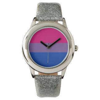 Bisexual Pride Wrist Watch