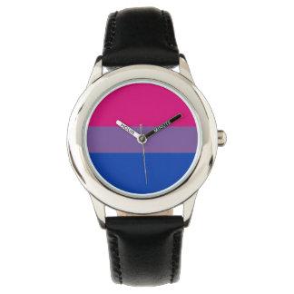 Bisexual Pride Wristwatches