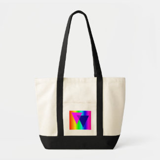 Bisexual Rainbow Canvas Bags