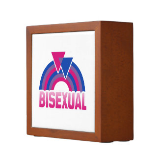 BISEXUAL RAINBOW FLAG 2 -.png Pencil Holder