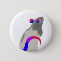 Bisexual Rat Button