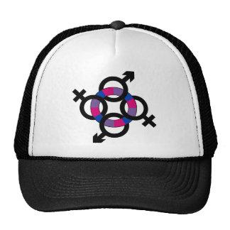 Bisexual Ring Trucker Hat