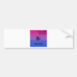 Bisexual science bumper sticker