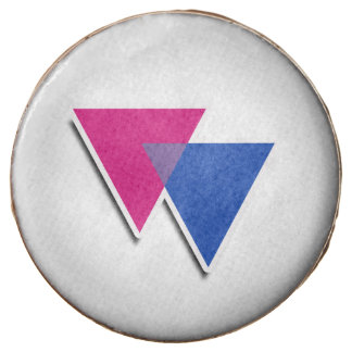 BISEXUAL TRIANGLE SYMBOL 3D -.png Chocolate Covered Oreo