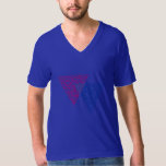 BISEXUAL TRIANGLE WORD PATTERN T-SHIRT
